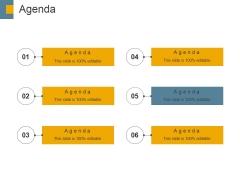Agenda Ppt PowerPoint Presentation Slides Deck