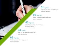 Agenda Ppt Powerpoint Presentation Slides Portrait