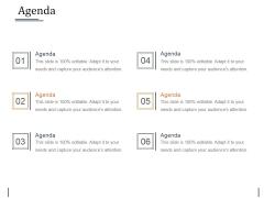 Agenda Ppt PowerPoint Presentation Styles Inspiration
