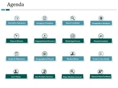 Agenda Ppt PowerPoint Presentation Summary Deck
