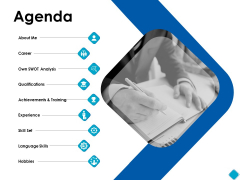 Agenda Qualifications Ppt PowerPoint Presentation Layouts Pictures