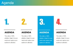 Agenda Template 1 Ppt PowerPoint Presentation File Show