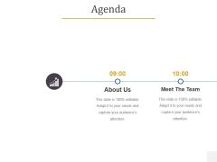 Agenda Template 1 Ppt PowerPoint Presentation Gallery Design Templates