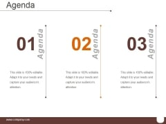 Agenda Template 1 Ppt PowerPoint Presentation Slide Download
