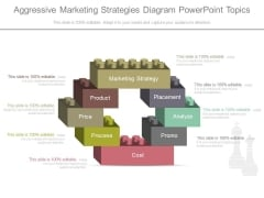 Aggressive Marketing Strategies Diagram Powerpoint Topics