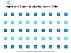 Agile And Scrum Marketing Icons Slide Ppt Slides Examples PDF