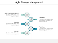 Agile Change Management Ppt Powerpoint Presentation Show Smartart Cpb