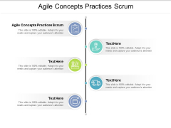 Agile Concepts Practices Scrum Ppt PowerPoint Presentation File Skills Cpb