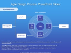 Agile Design Process PowerPoint Slides Ppt PowerPoint Presentation Show Example File PDF