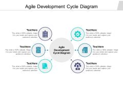 Agile Development Cycle Diagram Ppt PowerPoint Presentation Icon Graphics Cpb Pdf