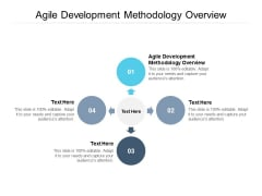 Agile Development Methodology Overview Ppt PowerPoint Presentation Templates Cpb Pdf