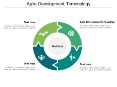 Agile Development Terminology Ppt PowerPoint Presentation Ideas Slideshow Cpb