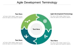 Agile Development Terminology Ppt PowerPoint Presentation Inspiration Pictures Cpb