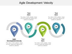Agile Development Velocity Ppt PowerPoint Presentation Styles Cpb
