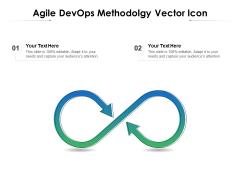 Agile Devops Methodolgy Vector Icon Ppt PowerPoint Presentation File Elements PDF