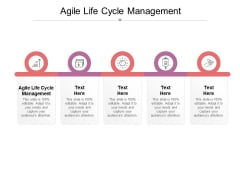 Agile Life Cycle Management Ppt PowerPoint Presentation Styles Guide Cpb