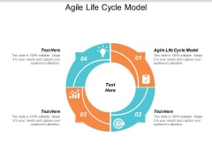 Agile Life Cycle Model Ppt PowerPoint Presentation Model Slides Cpb