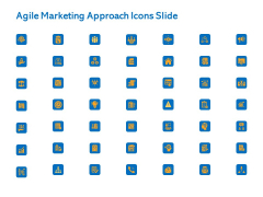 Agile Marketing Approach Icons Slide Ppt Styles Clipart PDF