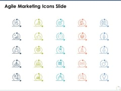 Agile Marketing Icons Slide Ppt PowerPoint Presentation Slides Diagrams