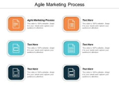 Agile Marketing Process Ppt Powerpoint Presentation Model Design Ideas Cpb
