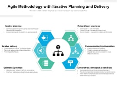 Agile Methodology With Iterative Planning And Delivery Ppt PowerPoint Presentation Icon Portrait PDF