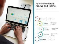Agile Methodology With Qa And Testing Ppt PowerPoint Presentation Icon Show PDF