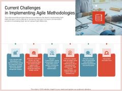 Agile Model Improve Task Team Performance Current Challenges In Implementing Agile Methodologies Mockup PDF
