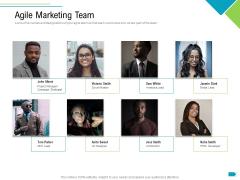 Agile Process Implementation For Marketing Program Agile Marketing Team Inspiration PDF