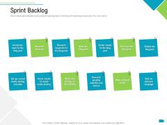 Agile Process Implementation For Marketing Program Sprint Backlog Introduction PDF
