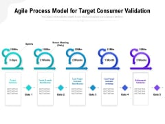 Agile Process Model For Target Consumer Validation Ppt PowerPoint Presentation File Model PDF