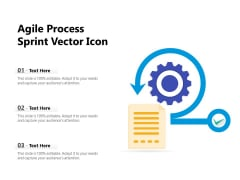 Agile Process Sprint Vector Icon Ppt PowerPoint Presentation File Inspiration PDF