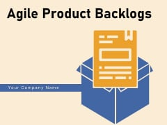 Agile Product Backlogs Process Components Planning Horizon Ppt PowerPoint Presentation Complete Deck