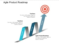 Agile Product Roadmap Ppt PowerPoint Presentation Infographic Template Examples Cpb