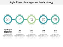 Agile Project Management Methodology Ppt PowerPoint Presentation Influencers Cpb