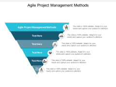 Agile Project Management Methods Ppt PowerPoint Presentation Layouts Graphics Example Cpb