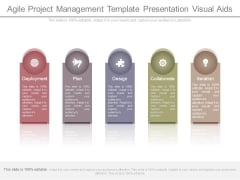 Agile Project Management Template Presentation Visual Aids