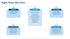 Agile Project Planning Agile Team Structure Ppt Summary Gridlines PDF