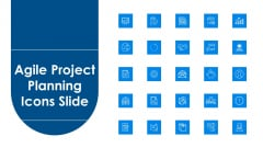 Agile Project Planning Icons Slide Ppt Infographic Template Clipart PDF