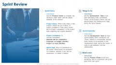 Agile Project Planning Sprint Review Ppt Outline Slide PDF
