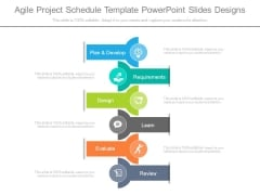 Agile Project Schedule Template Powerpoint Slides Designs
