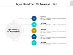 Agile Roadmap Vs Release Plan Ppt PowerPoint Presentation Infographic Template Portfolio Cpb Pdf