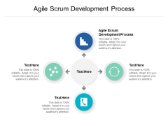 Agile Scrum Development Process Ppt PowerPoint Presentation Model Graphic Images Cpb