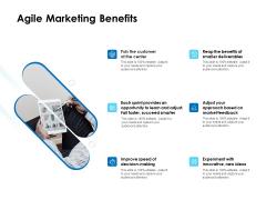 Agile Scrum Marketing Agile Marketing Benefits Ppt Infographic Template Inspiration PDF