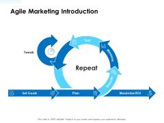 Agile Scrum Marketing Agile Marketing Introduction Ppt Slides Grid PDF