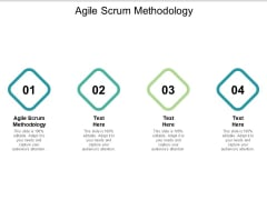 Agile Scrum Methodology Ppt PowerPoint Presentation Infographic Template Good Cpb
