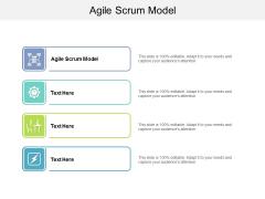Agile Scrum Model Ppt PowerPoint Presentation Summary Templates Cpb