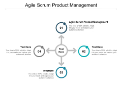 Agile Scrum Product Management Ppt PowerPoint Presentation Outline Brochure Cpb
