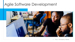 Agile Software Development Executive Visibility Ppt PowerPoint Presentation Complete Deck With Slides