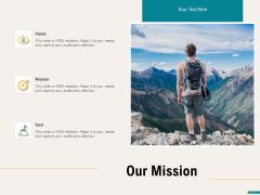 Agile Sprint Marketing Our Mission Ppt Infographic Template Deck PDF
