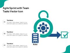 Agile Sprint With Team Tasks Vector Icon Ppt PowerPoint Presentation Summary Samples PDF
